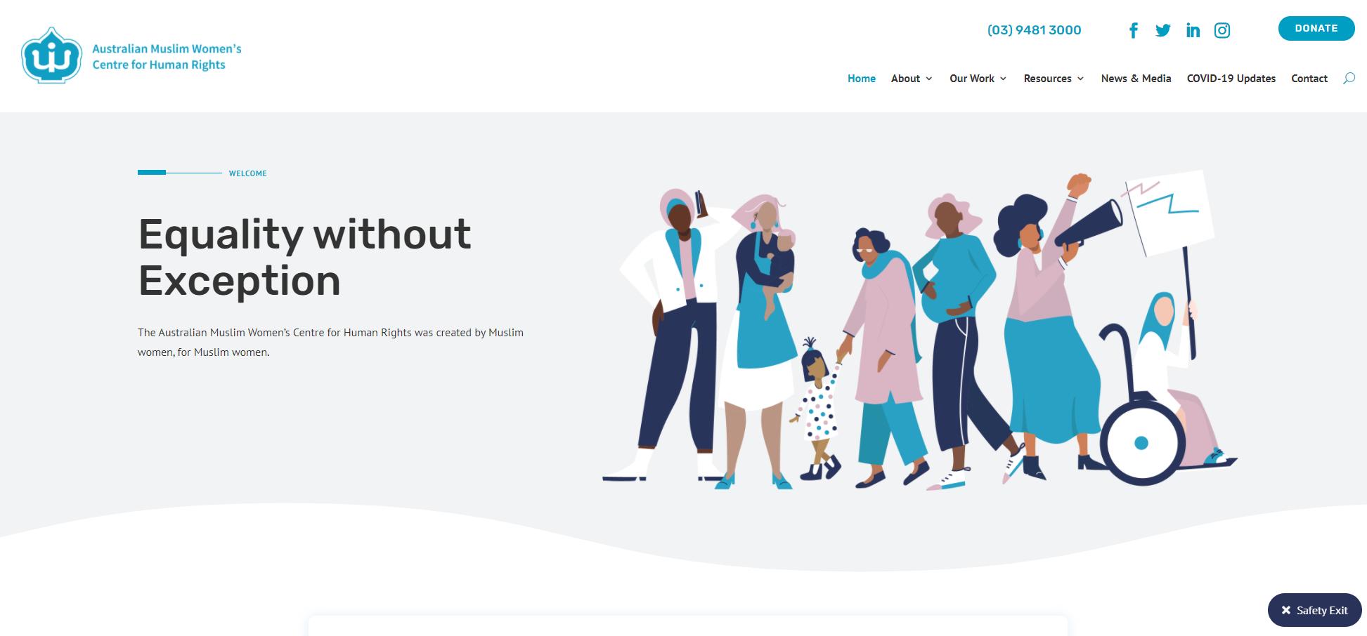 AWWCHR Homepage